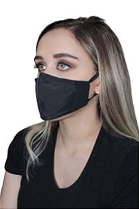 Máscara Berilo, Antiviral Permanente, modelo anatômico, dupla camada, inativa vírus em até 2 minutos após contato