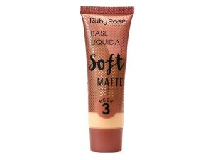 Base Líquida Soft Matte Bege 3 - Ruby Rose