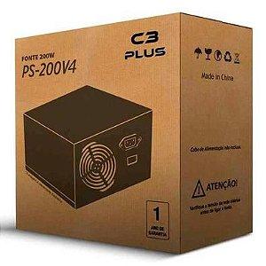 FONTE PC C3 200W