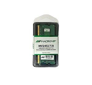 MEMORIA MACROVIP DDR4 8GB NOTEBOOK