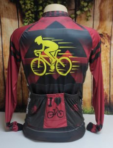 Camisa Ciclista Unissex Brasil, Ziper total - 0CAM1500-TSP002