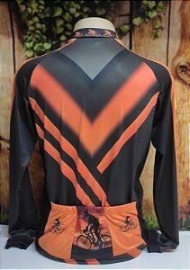 Camisa Ciclista Unissex Brasil, Ziper total - 0CAM1500-TSP003