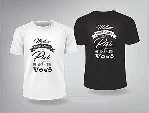 Camiseta Dia dos Pais e Vovô - 1CAM0101-AVO02