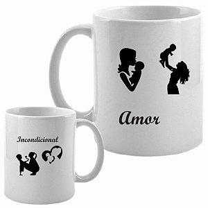 Caneca Dia das Mães - Amor Incondicional