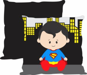 Almofada Heroi baby - Superman