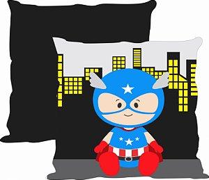 Almofada Heroi baby - Capitão América