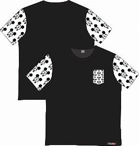 Camiseta com Bolso e Mangas Personalizados - Mickey