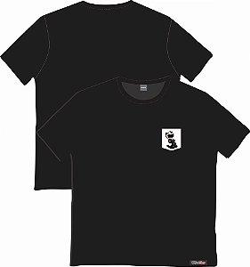 Camiseta com Bolso Personalizados - Gato Felix