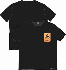 Camiseta com Bolso Personalizados - Brutus