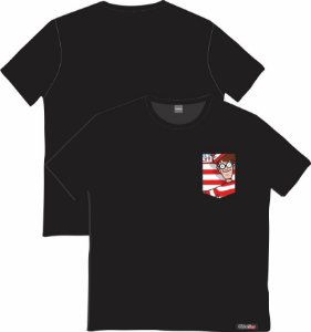 Camiseta com Bolso Personalizados - Wally