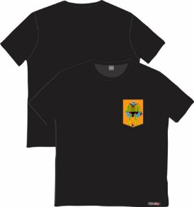 Camiseta com Bolso Personalizados - Fransktein Jr