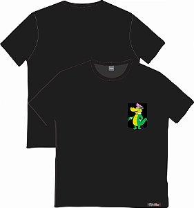 Camiseta com Bolso Personalizados - Wally gator