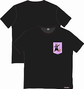 Camiseta com Bolso Personalizados - Gargamel