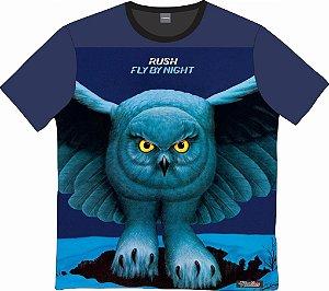 Camiseta Rock - Rush - Fly by night
