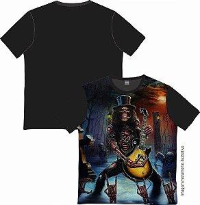 Camiseta Rock and roll Guitar Man