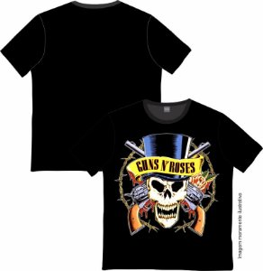 Camiseta Rock and roll Guns N' Roses