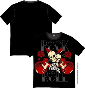 Camiseta Rock and roll Forever