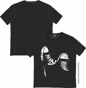 Camiseta Rock and roll Sneakers