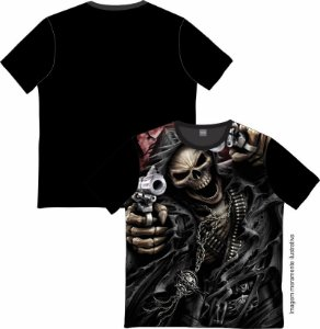 Camiseta Rock and roll Skull Weapon