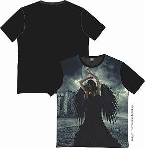 Camiseta Rock and roll Black Angel