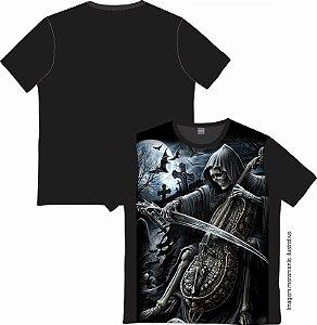Camiseta Rock and roll Skull Plays Violin
