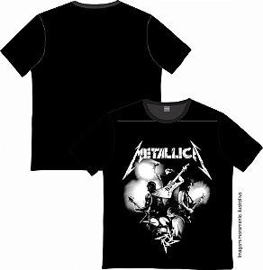 Camiseta Rock and roll Metallica 01