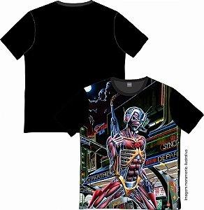 Camiseta Rock and roll Iron Maiden