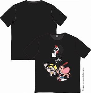 Camiseta Cartoon - As Terríveis Aventuras de Billy e Mandy