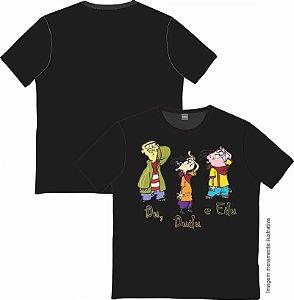 Camiseta Cartoon - Du, Dudu e EDu