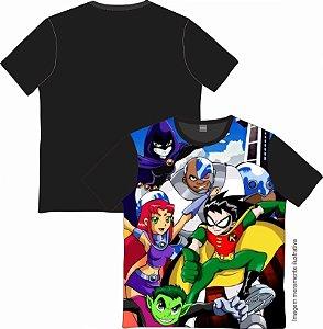 Camiseta Cartoon - Jovens Titãs