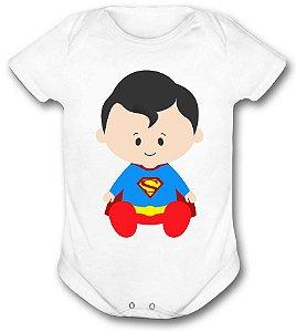 Body de bebê - Heróis Baby - Superman