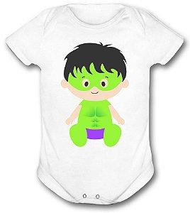 Body de bebê - Heróis Baby - hulk