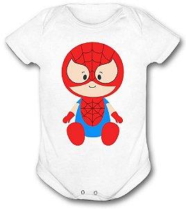 Body de bebê - Heróis Baby - Homem Aranha