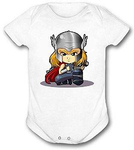 Body de bebê - Heróis Baby - Thor