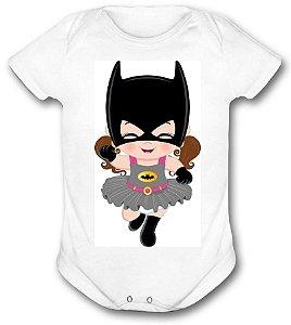 Body de bebê - Heróis Baby - Super Heroina Batman