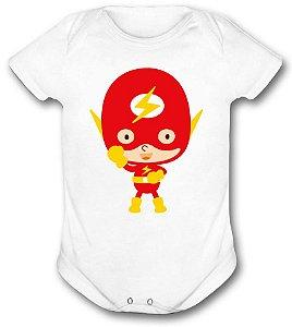 Body de bebê - Heróis Baby - Flash