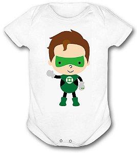 Body de bebê - Heróis Baby - Lanterna Verde