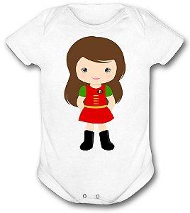 Body de bebê - Heróis Baby - Super Heroina Robin