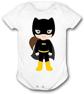 Body de bebê - Heróis Baby - Super Heroina Batman 02