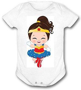 Body de bebê - Heróis Baby - Mulher Maravilha 02