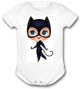 Body de bebê - Heróis Baby - Mulher gato