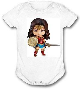 Body de bebê - Heróis Baby - Mulher Maravilha 03
