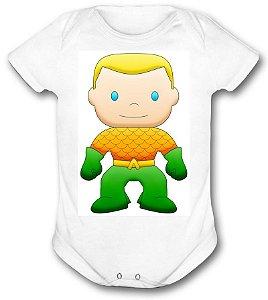 Body de bebê - Heróis Baby - Aquaman