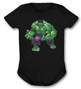 Body de bebê - Hulk