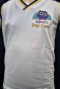 Camiseta regata branca - Day Care