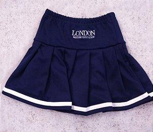 Saia prega com shorts embutido em helanca - London