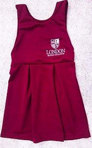 Vestido em helanca (kit vestido+short) - London