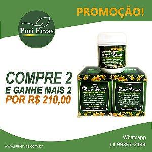 PROMOÇÃO - CREME PURI ERVAS - COMPRE 2 E GANHE + 2