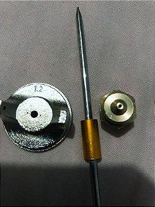 Bico 1.2 Para Pistola Pintura Stels, Usado Uma Vez Somente.