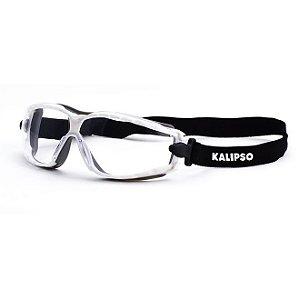 Óculos Aruba Incolor proteção para Moto /bike Anti-embaçante Airsoft Epi e tratamento anti risco